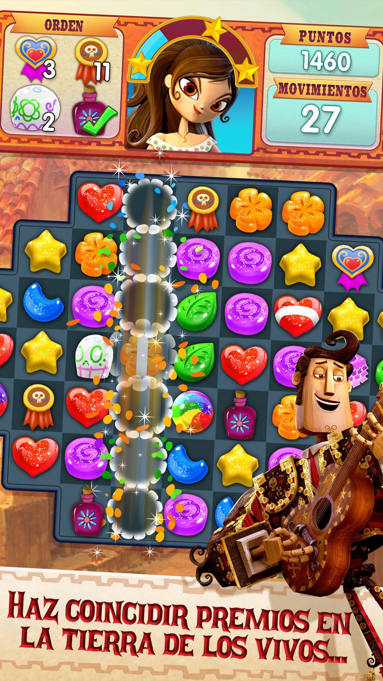 Sugar Smash: Book of Life Screenshot
