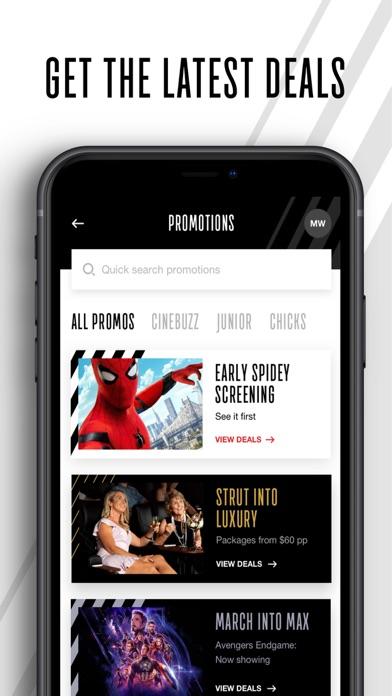 Event Cinemas screenshot four