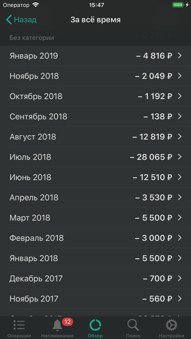 CashSync: Учет расходовСкриншоты 6