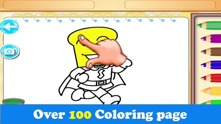Printable Anpanman Coloring screenshot-4