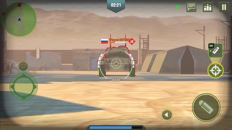 War Machines: 3D Tank Game screenshot-5