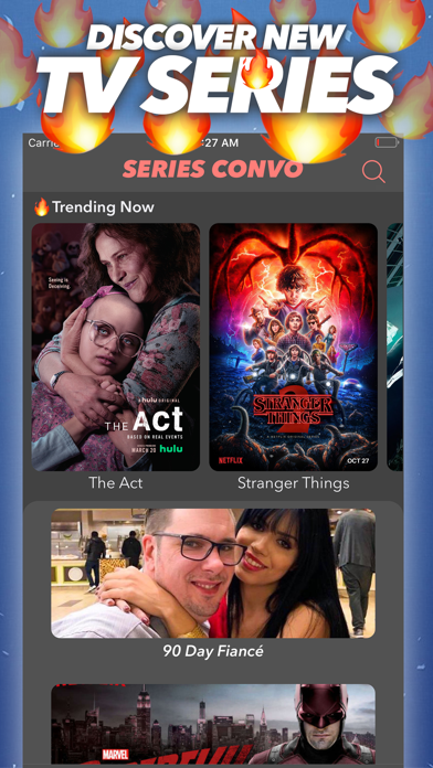 Series Convo: TV Show Chatroom Screenshot