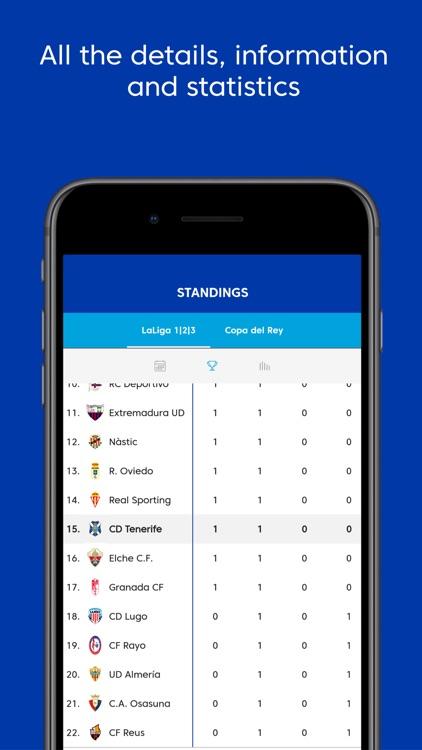 Club Deportivo Tenerife - App screenshot-4