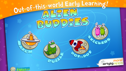 Alien Buddies – Preschool Fun screenshot one