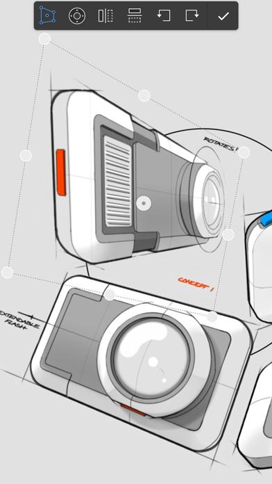 Screenshot of Autodesk SketchBook5
