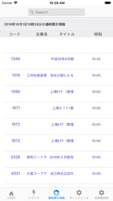 株底アラート ScreenShot3