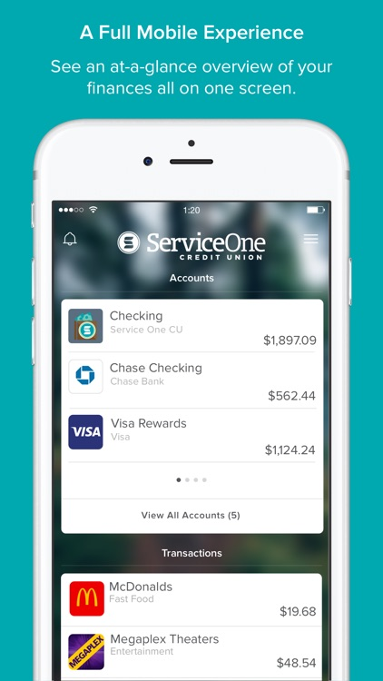 Service One Money Manager