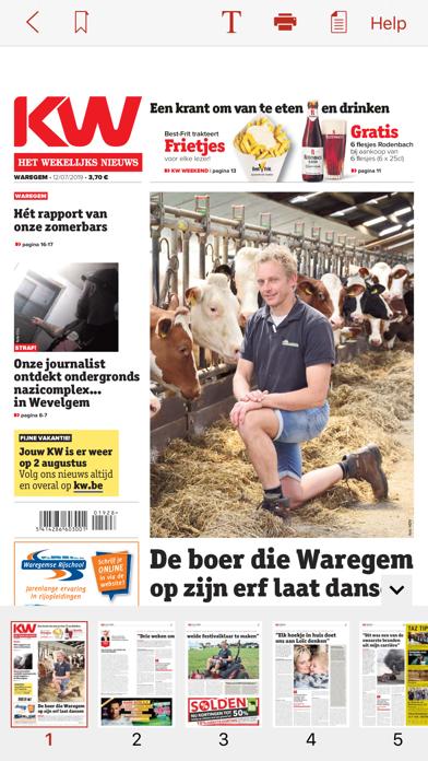 Krant van West-Vlaanderenのおすすめ画像5