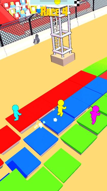 Stickman Race 3D screenshot-5