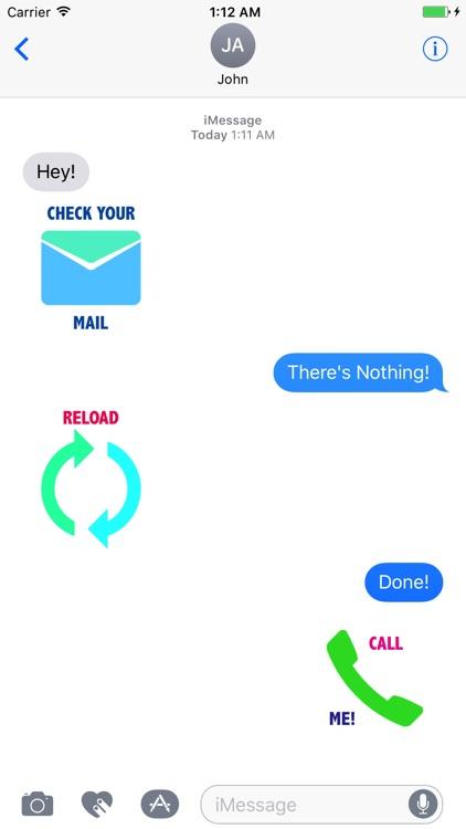 Chatty Stickers
