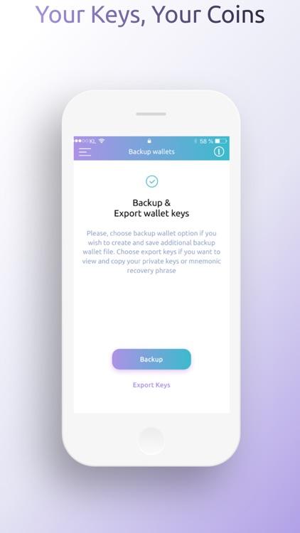 BitFreezer Crypto Wallet screenshot-4