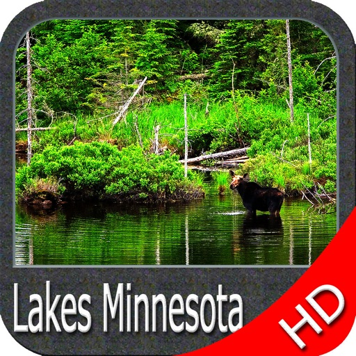 Minnesota lakes HD Charts