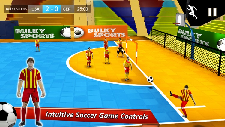Indoor Soccer 19: Futsal Cup screenshot-2