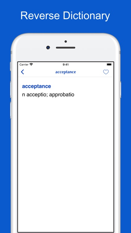 Latin-English-Latin Dictionary