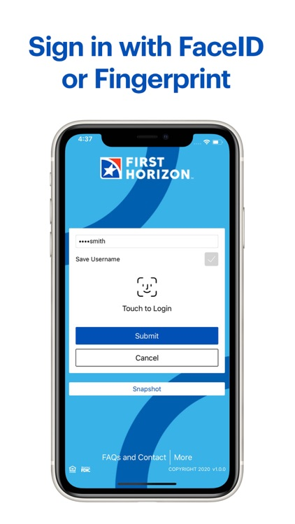 First Horizon Mobile Banking screenshot-3