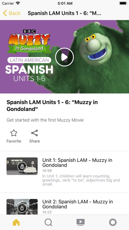 MUZZY BBC screenshot-2