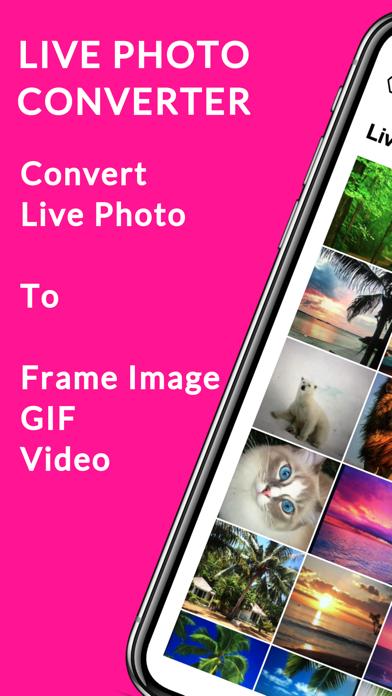 Live Photo Converter screenshot one