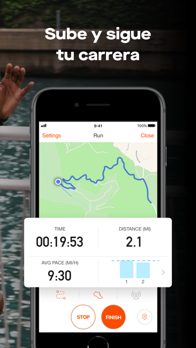 Screenshot for Strava GPS Correr Ciclismo in Spain App Store