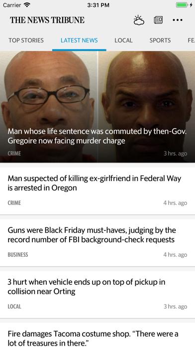 The News Tribune News Screenshot