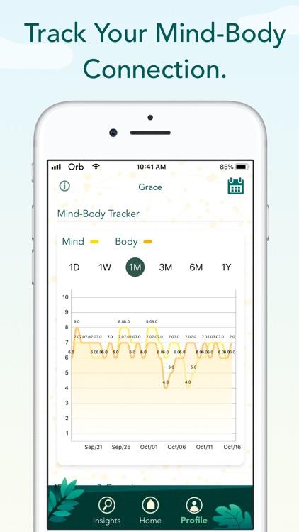 Orb: Mind-Body Tracker screenshot-5