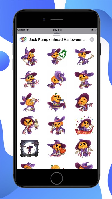 Jack Pumpkinhead Stickers screenshot 1
