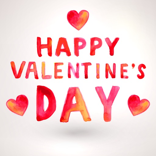 Happy Valentines Day Stickers∙