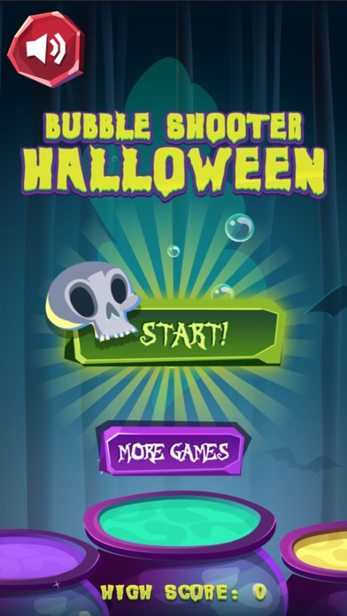 Halloween Scary Bubble Shooter screenshot 1