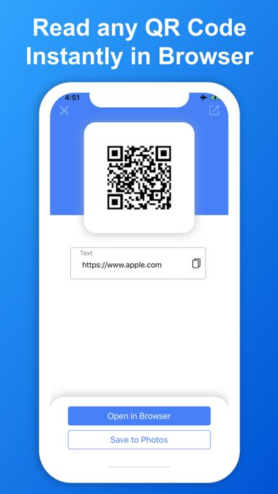 SkyBlueScan:QRコードスキャナーのスクリーンショット4