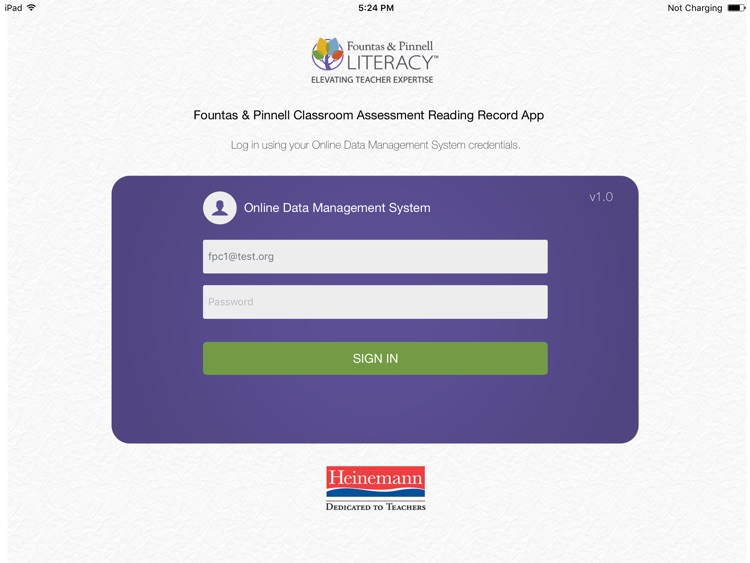 F&P FPC Reading Record Apps