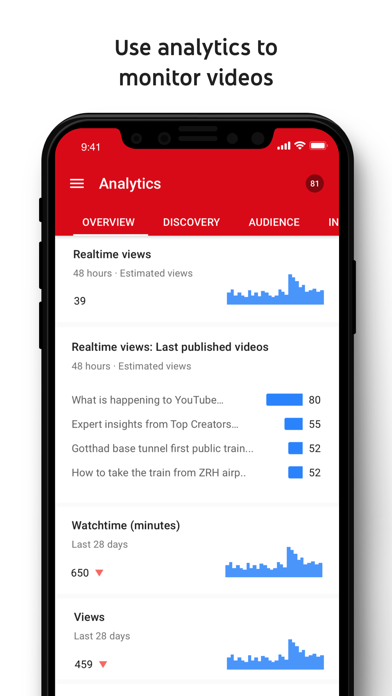YouTube Studio screenshot two