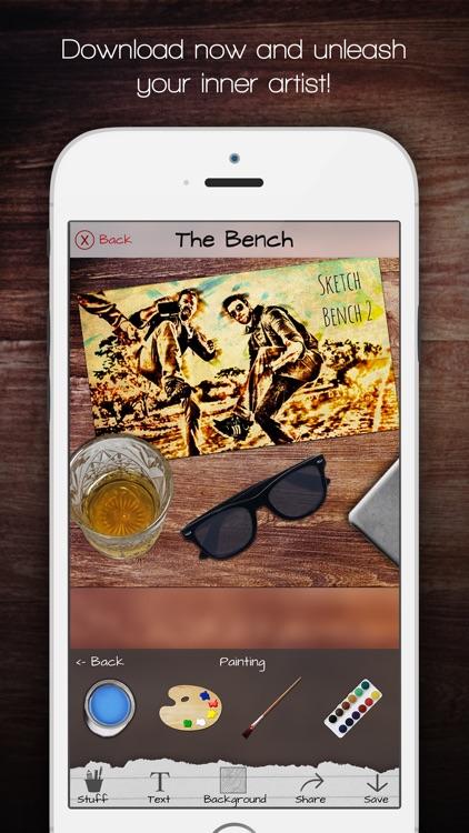 Sketch Bench - Pencil drawings screenshot-4