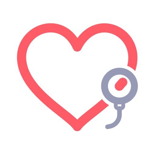 Blood Pressure Monitor app log