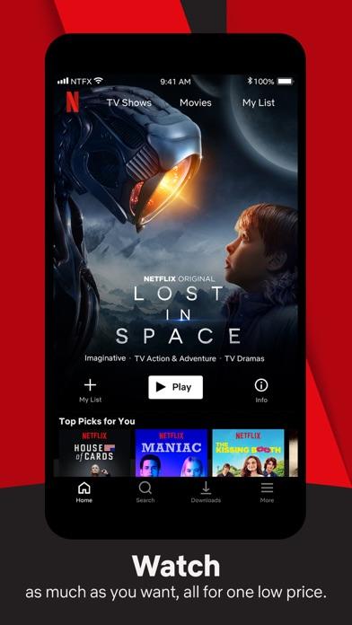 Screenshot for Netflix in Romania App Store