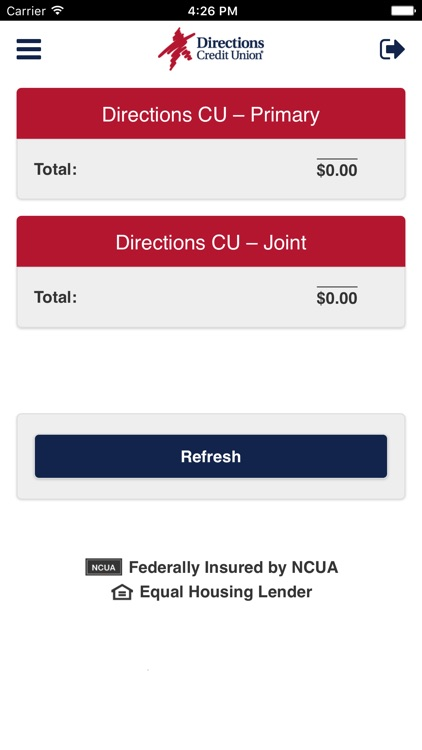 Directions CU Mobile Banking