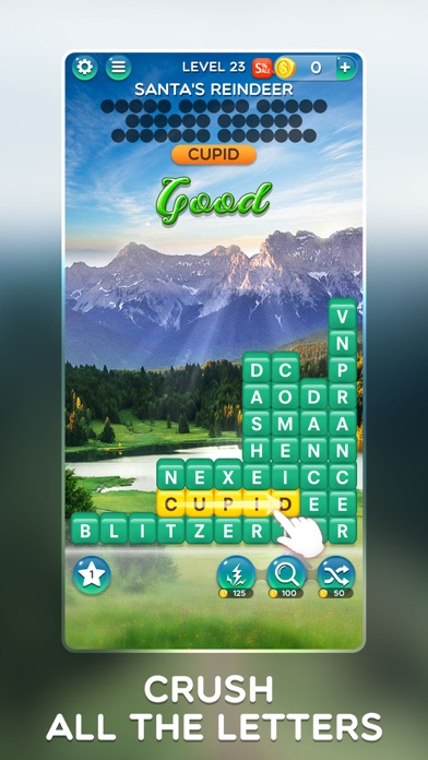 Word Crush - Fun Puzzle Game screenshot 2