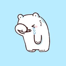 Fatty Polar Bear Animated Emoj