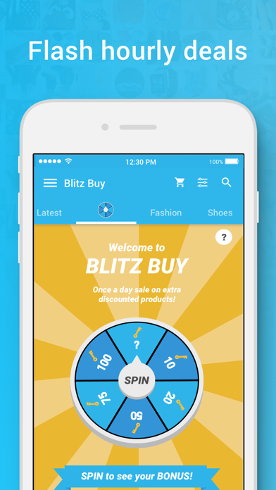 Screenshot for Wish - Shopping Made Fun in Israel App Store