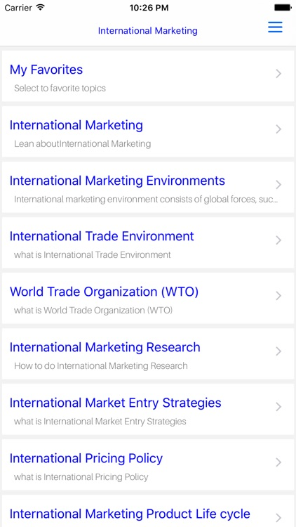 MBA International Marketing screenshot-4