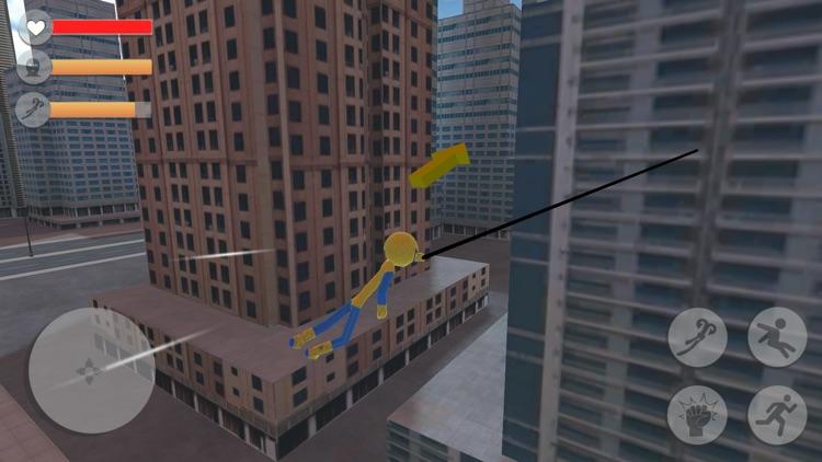 Spider Stickman Rope Hero screenshot-3
