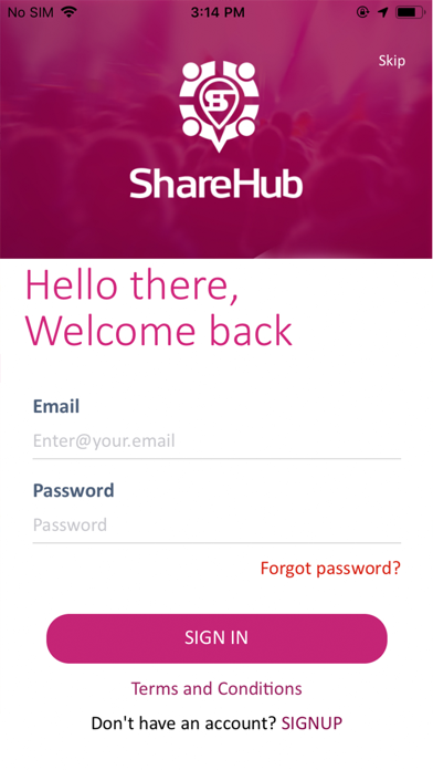 Screenshot for Share Hub in United States App Store