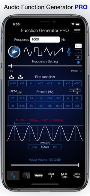 Audio Function Generator PRO