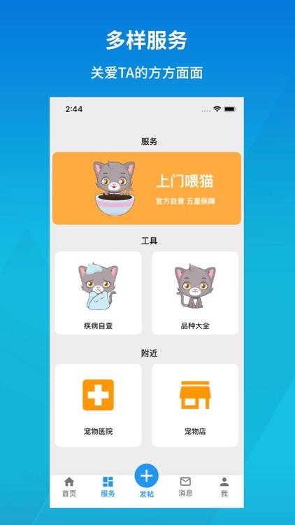 猫村-有爱的宠物猫咪社区 screenshot-3