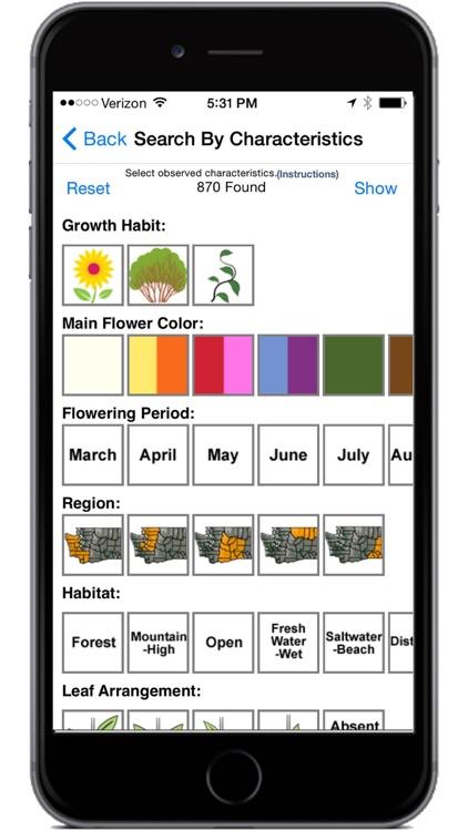 Washington Wildflowers screenshot-4