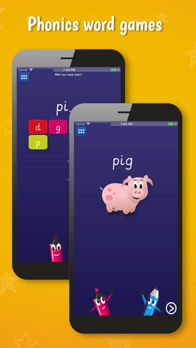 PocketPhonics (basic edition) screenshot two
