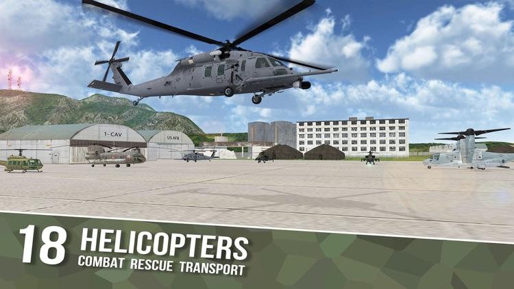 Flight Sims Air Cavalry Pilots screenshot-0