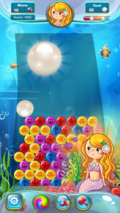 Mermaid Pearl - Match 3 screenshot-3