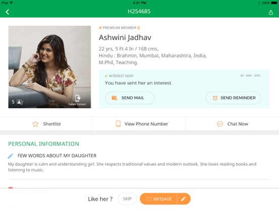BharatMatrimony – Matrimonial - Revenue & Download estimates - Apple