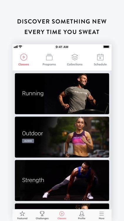 Peloton — at home fitness screenshot-0