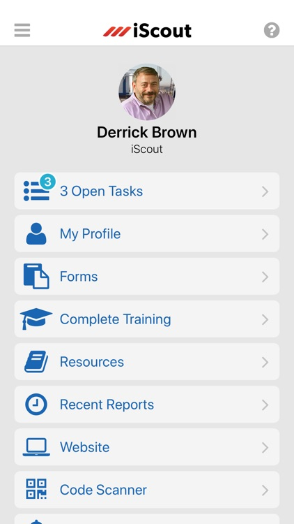 iScout: Reporting and Training