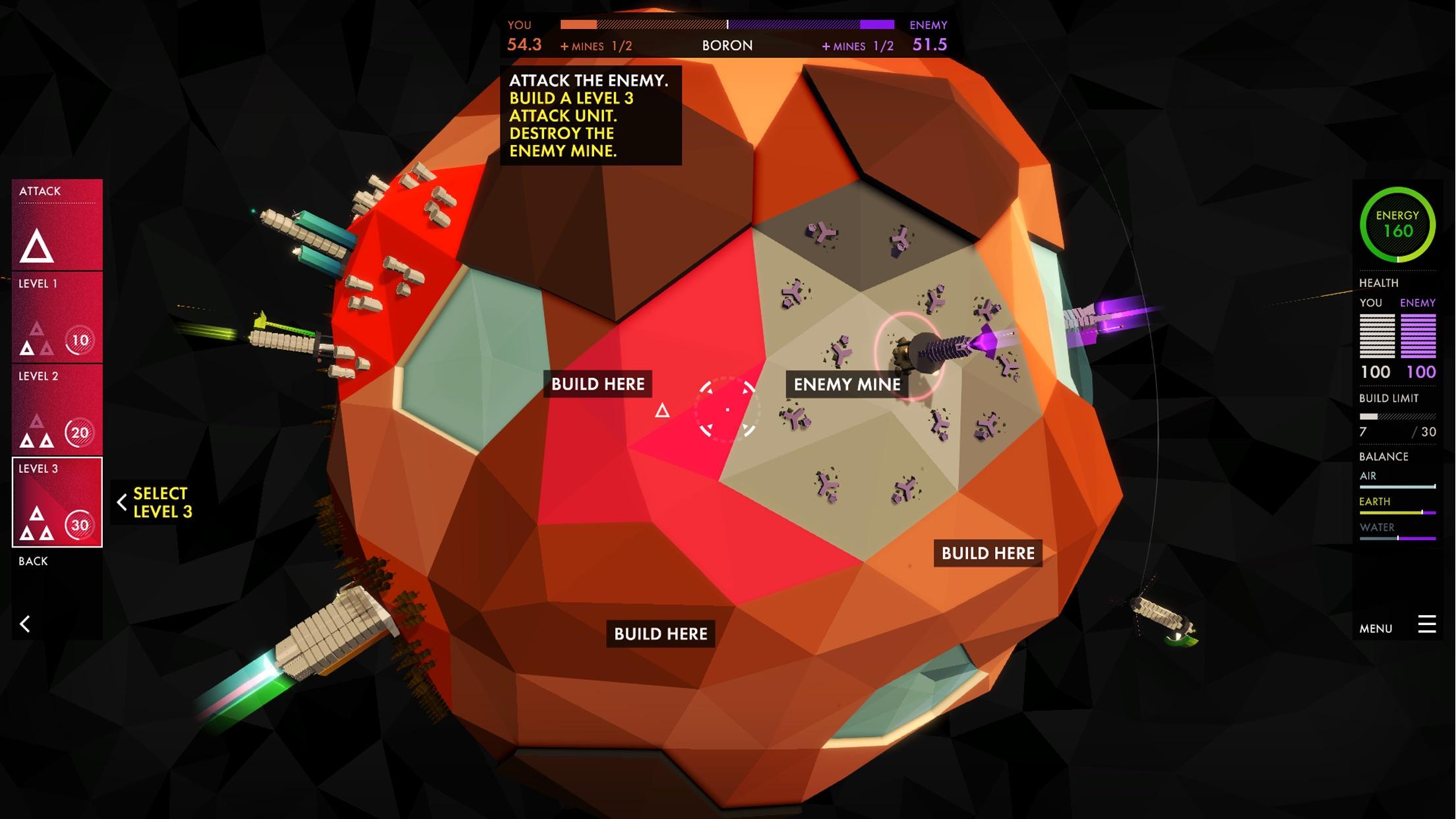 Screenshot do app Element
